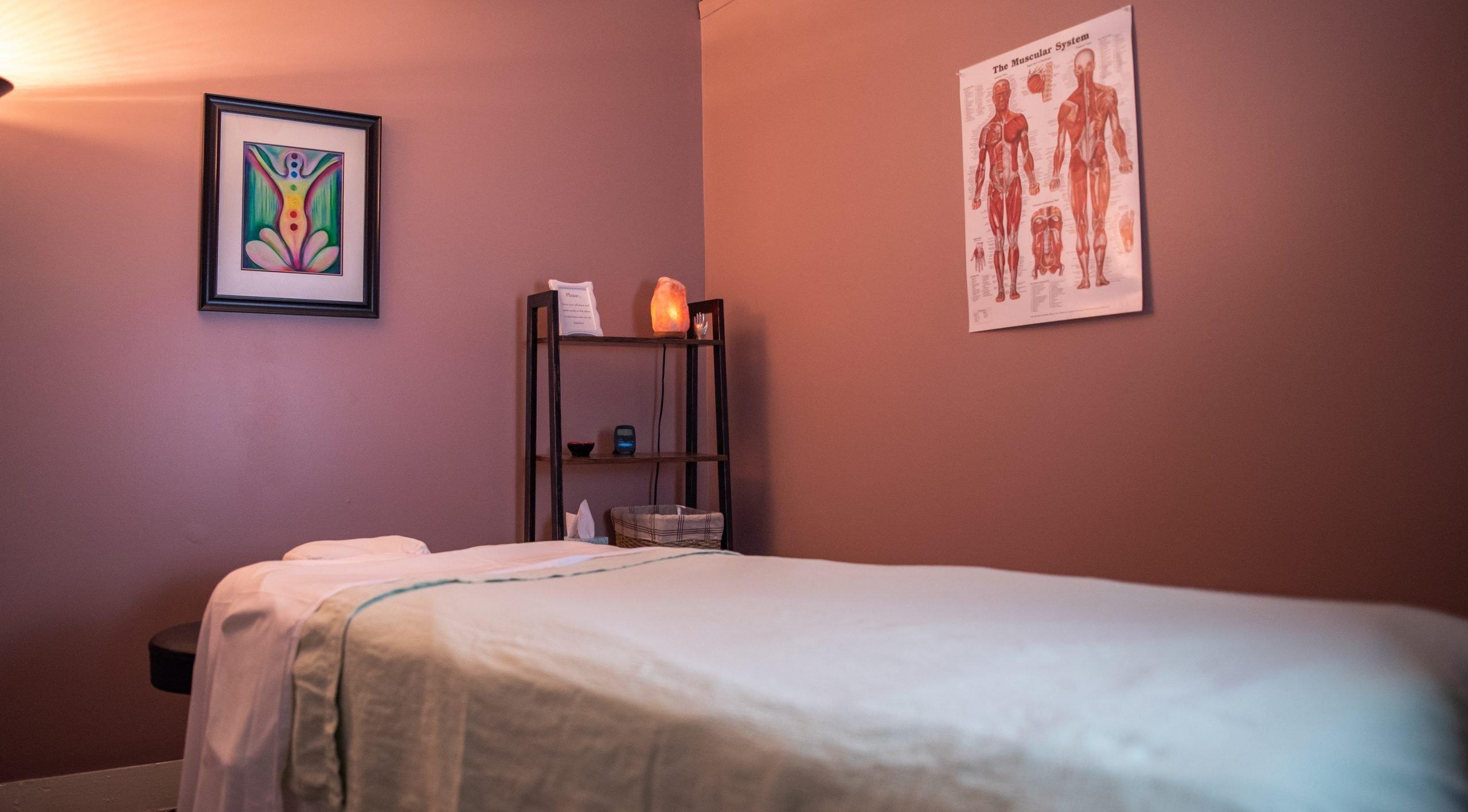 Holistic Lakewood massage room