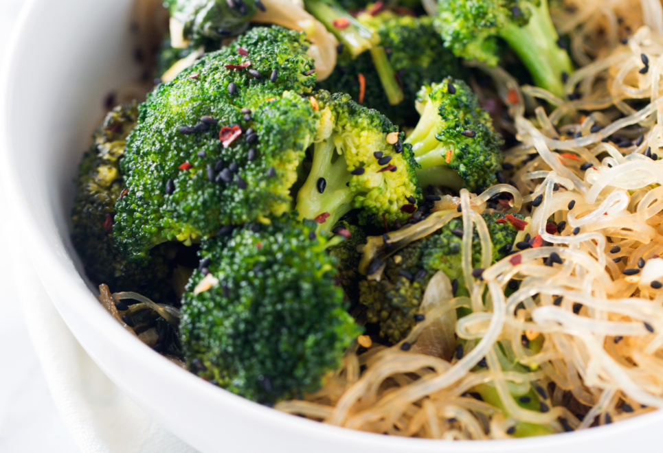 Broccoli Stir Fry with Kelp Noodles