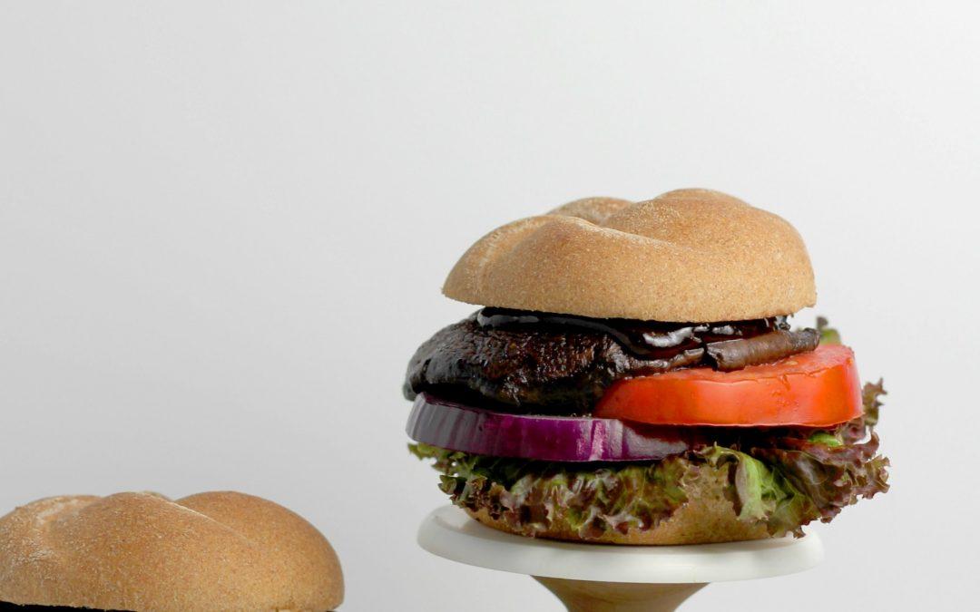 Best Ever! Grilled Portobello Mushroom Burger